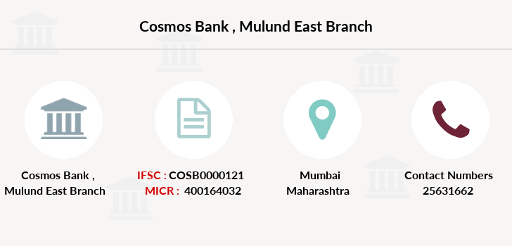 Cosmos-co-op-bank Mulund-east branch