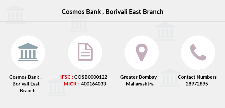 Cosmos-co-op-bank Borivali-east branch