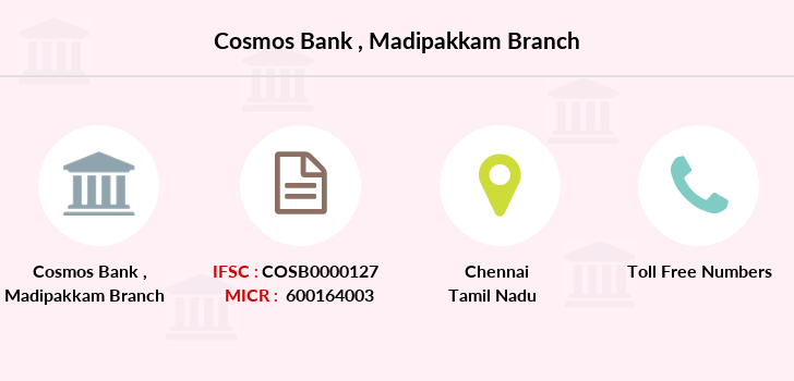 Cosmos-co-op-bank Madipakkam branch