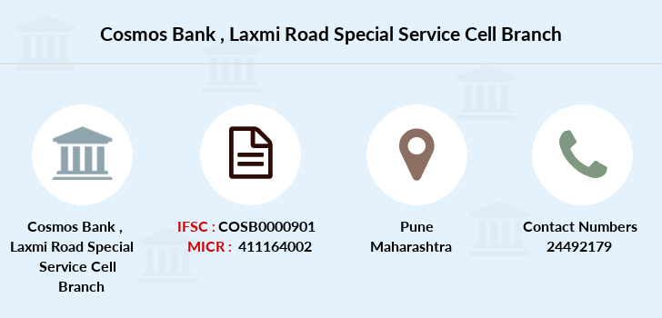 Cosmos-co-op-bank Laxmi-road-special-service-cell branch