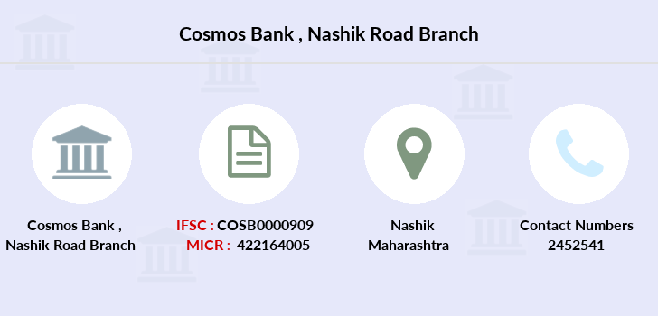 Cosmos-co-op-bank Nashik-road branch