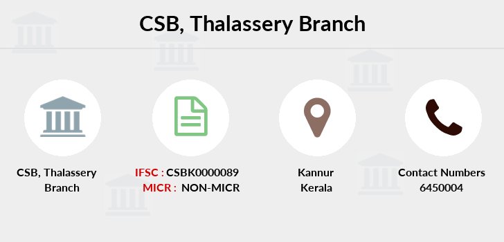 Catholic-syrian-bank Thalassery branch