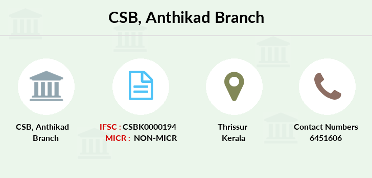 Catholic-syrian-bank Anthikad branch