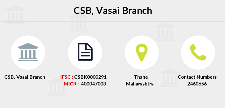 Catholic-syrian-bank Vasai branch