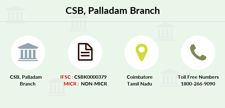 Catholic-syrian-bank Palladam branch