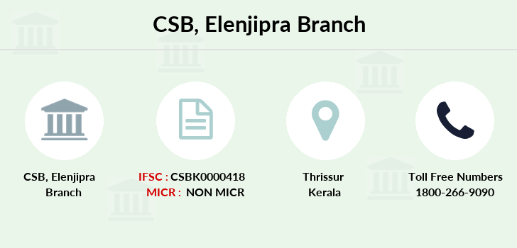 Catholic-syrian-bank Elenjipra branch