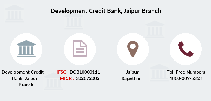 Development-credit-bank Jaipur branch