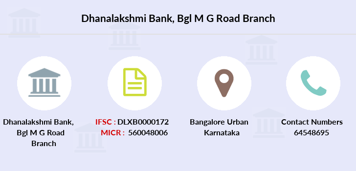 Dhanalakshmi-bank Bgl-m-g-road branch