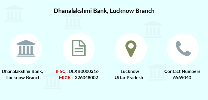 Dhanalakshmi-bank Lucknow branch