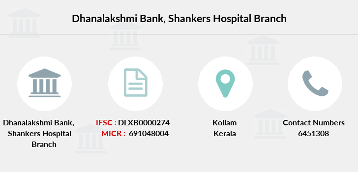 Dhanalakshmi-bank Shankers-hospital branch