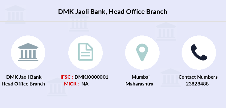 Dmk-jaoli-bank Head-office branch