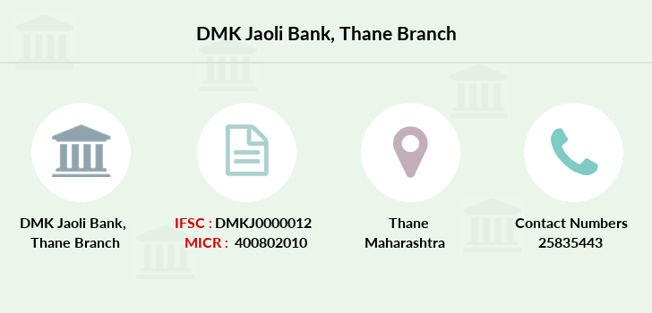 Dmk-jaoli-bank Thane branch