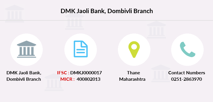 Dmk-jaoli-bank Dombivli branch