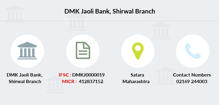 Dmk-jaoli-bank Shirwal branch