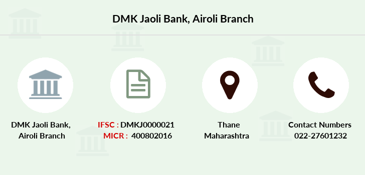 Dmk-jaoli-bank Airoli branch