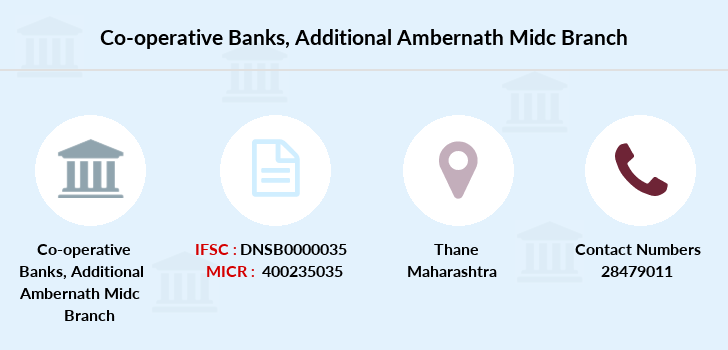 Co-operative-banks Additional-ambernath-midc branch