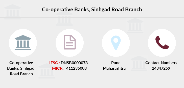 Co-operative-banks Sinhgad-road branch
