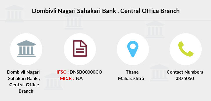 Dombivli-nagari-sahakari-bank Central-office branch