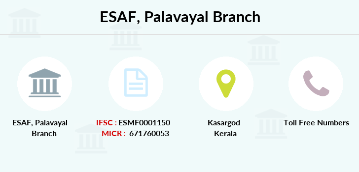 Esaf-small-finance-bank-limited Palavayal branch