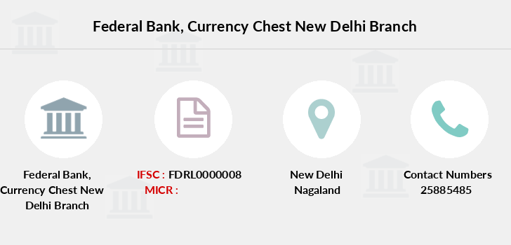 Federal-bank Currency-chest-new-delhi branch
