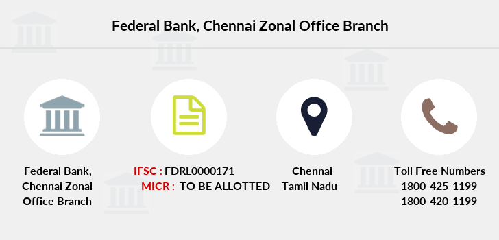 Federal-bank Chennai-zonal-office branch