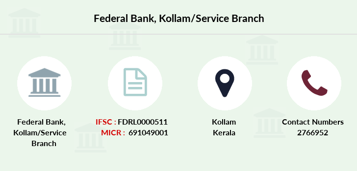 Federal-bank Kollam-service branch
