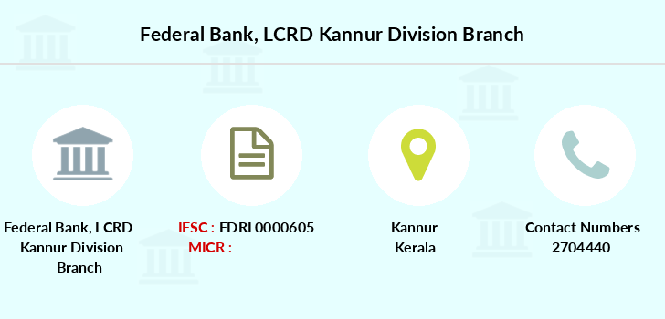 Federal-bank Lcrd-kannur-division branch