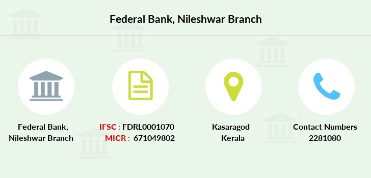 Federal-bank Nileshwar branch