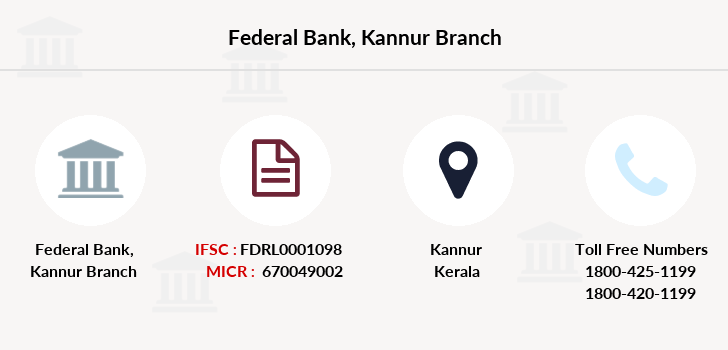 Federal-bank Kannur branch