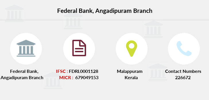 Federal-bank Angadipuram branch