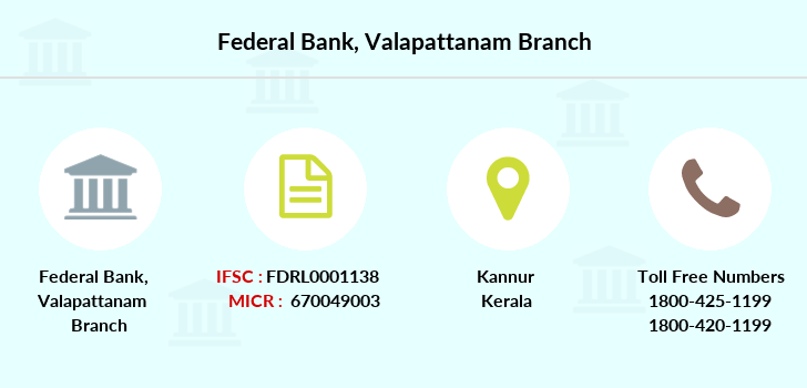 Federal-bank Valapattanam branch