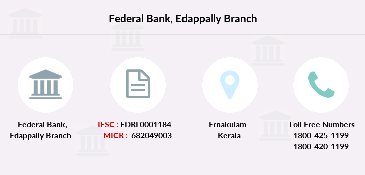 Federal-bank Edappally branch