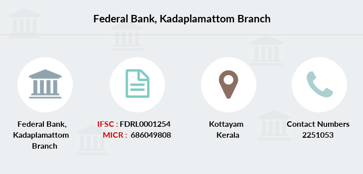 Federal-bank Kadaplamattom branch