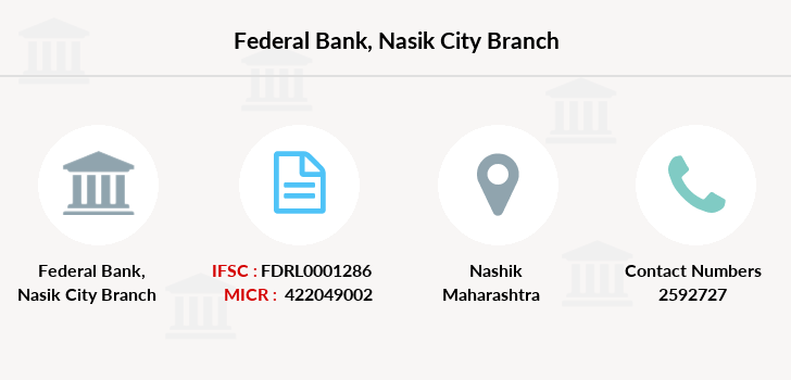 Federal-bank Nasik-city branch