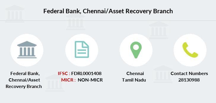 Federal-bank Chennai-asset-recovery branch
