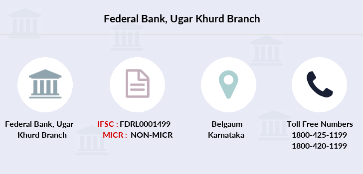 Federal-bank Ugar-khurd branch