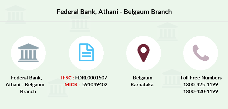 Federal-bank Athani-belgaum branch