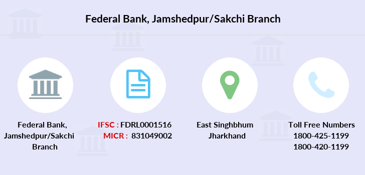 Federal-bank Jamshedpur-sakchi branch