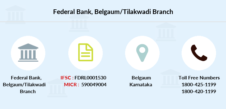 Federal-bank Belgaum-tilakwadi branch