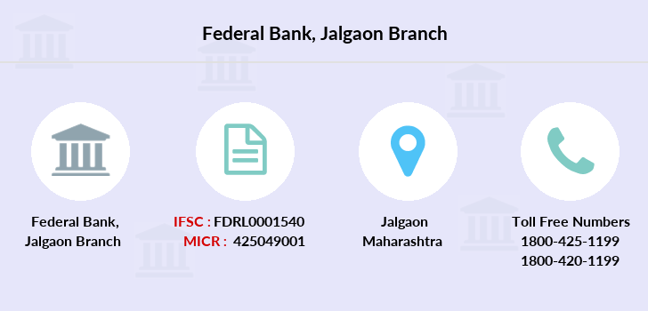 Federal-bank Jalgaon branch