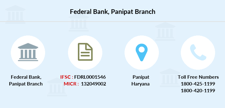 Federal-bank Panipat branch