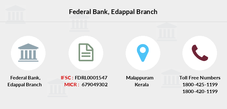 Federal-bank Edappal branch