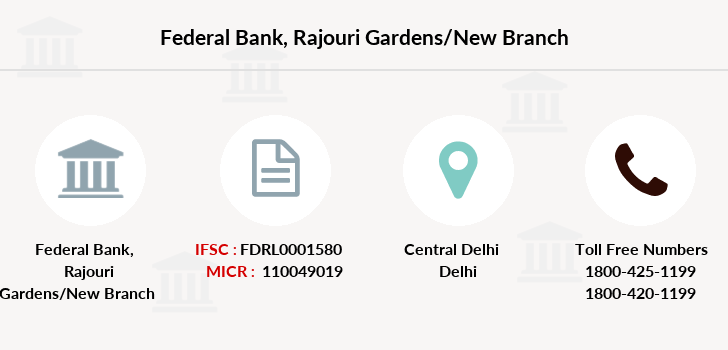 Federal-bank Rajouri-gardens-new branch