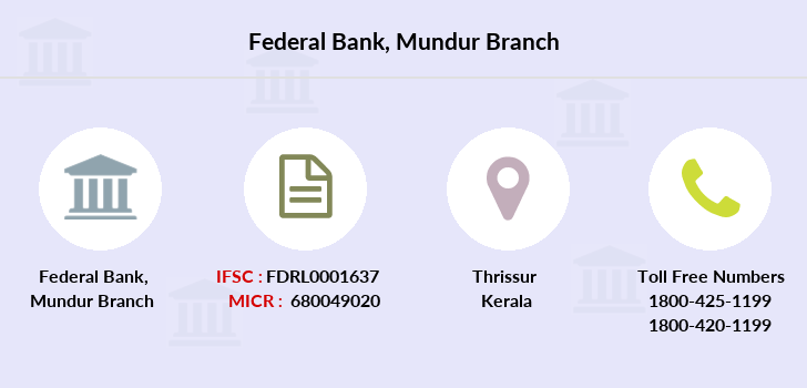 Federal-bank Mundur branch