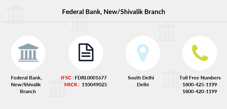 Federal-bank New-shivalik branch