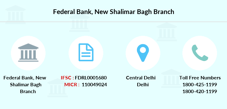 Federal-bank New-shalimar-bagh branch