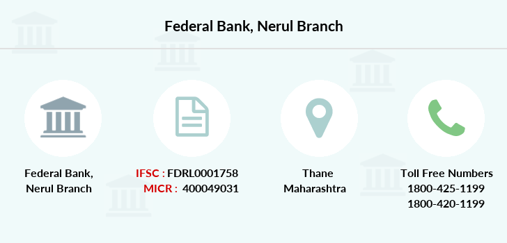 Federal-bank Nerul branch