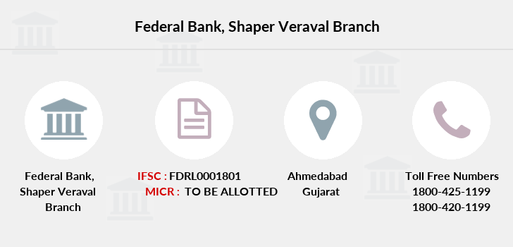 Federal-bank Shaper-veraval branch