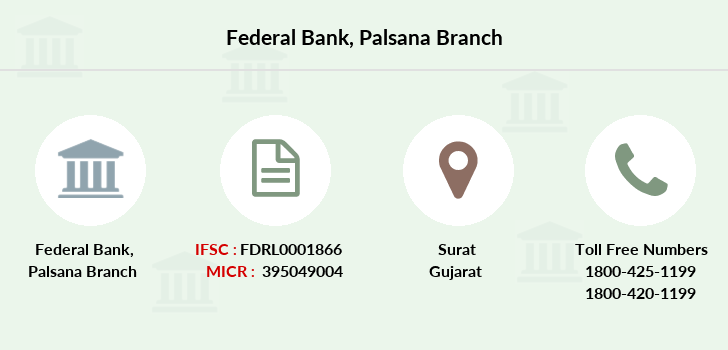 Federal-bank Palsana branch