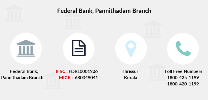 Federal-bank Pannithadam branch